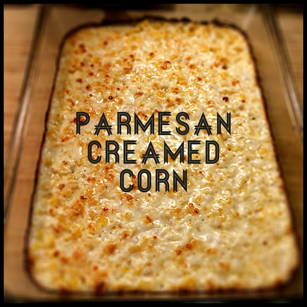 Parmesan Creamed Corn