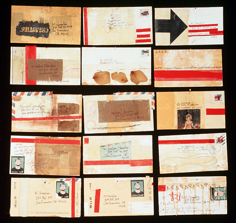 there's nothing better than getting a handwritten letter or card in the mail... i still make it a practice to send handmade mail art from time to time... thinking about creating new correspondence projects...