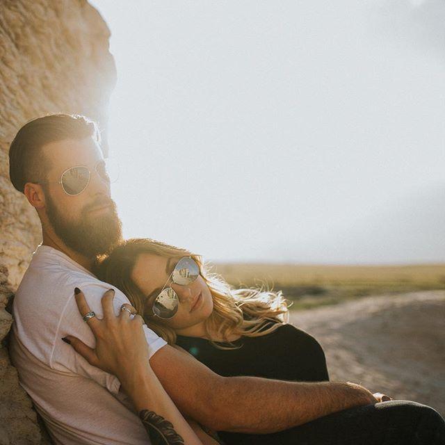 My fabulous fiance and I- photo by Tara Johansen