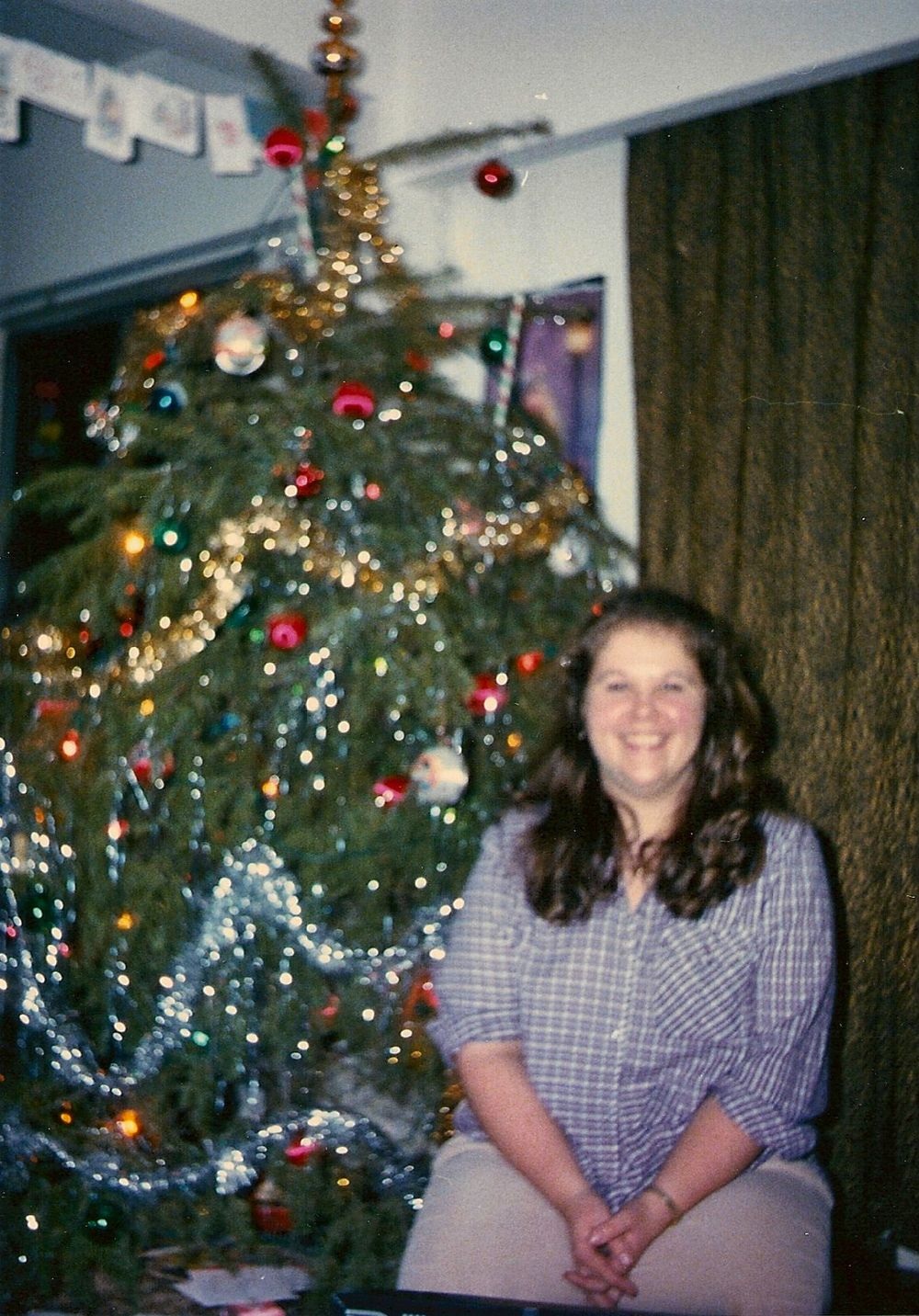 My first grown-up Christmas 1980.