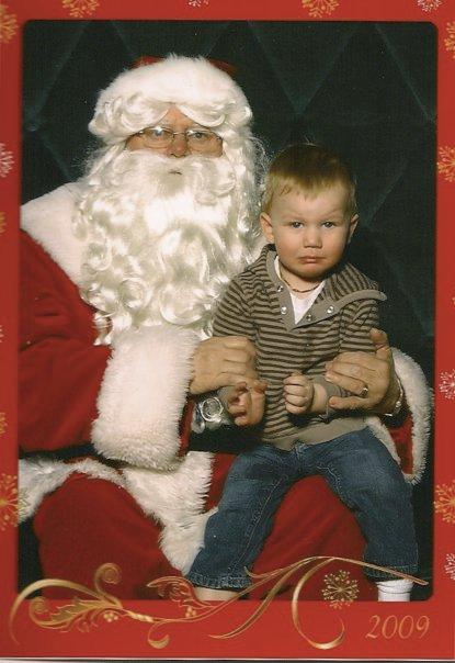Dane doesn't like Santa in 2010