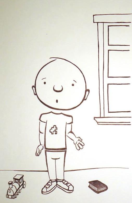 My Friend Sam Illustration