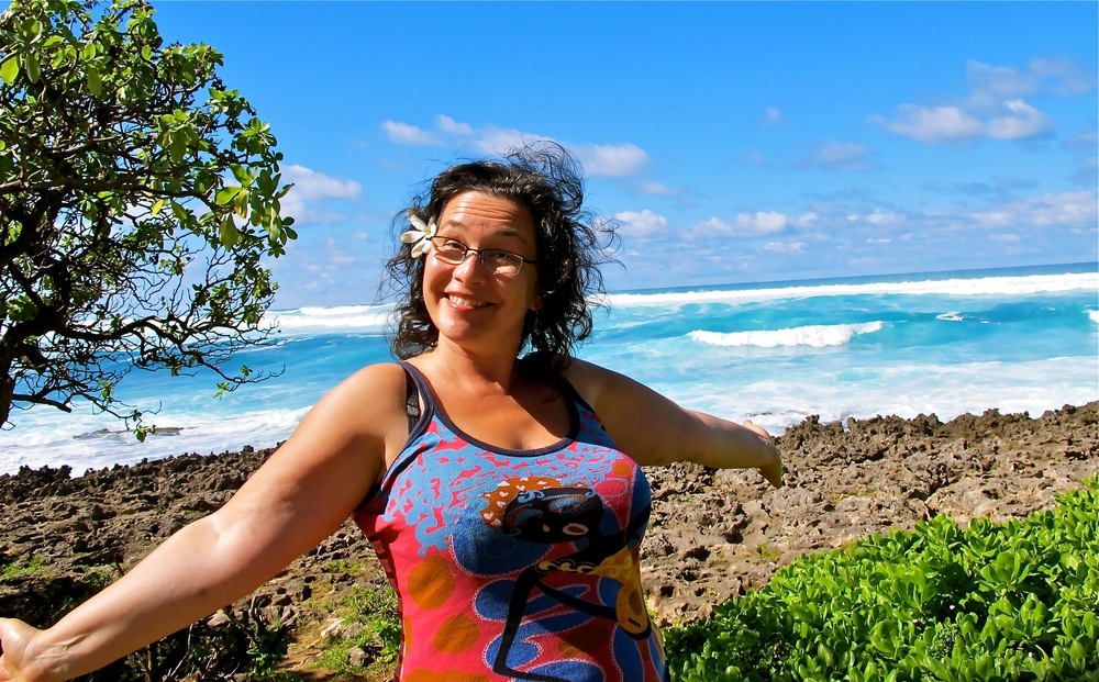 EagleSpirit in all her yummyness – Turtle Bay, Oahu