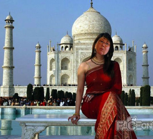This will be me someday soon at the Taj Mahal! (forgive me Aishwarya Rai!)