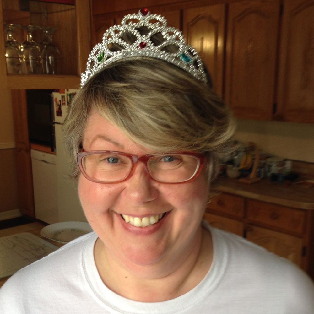 Seriously, I am just so excited to wear a crown and be fawned upon, it's a wee bit ridiculous!