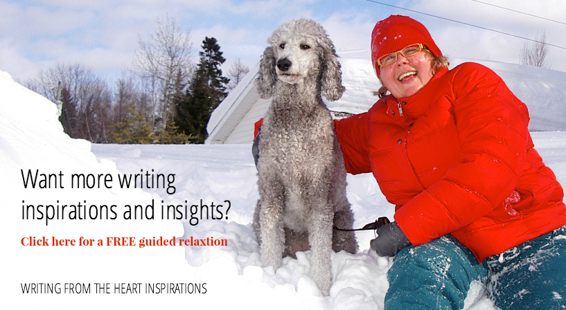 Newsletter members also receive special bonuses, including monthly free guided writing videos!