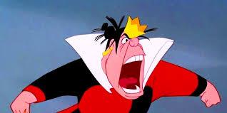 The Queen of Hearts,from Disney's Alice in Wonderland