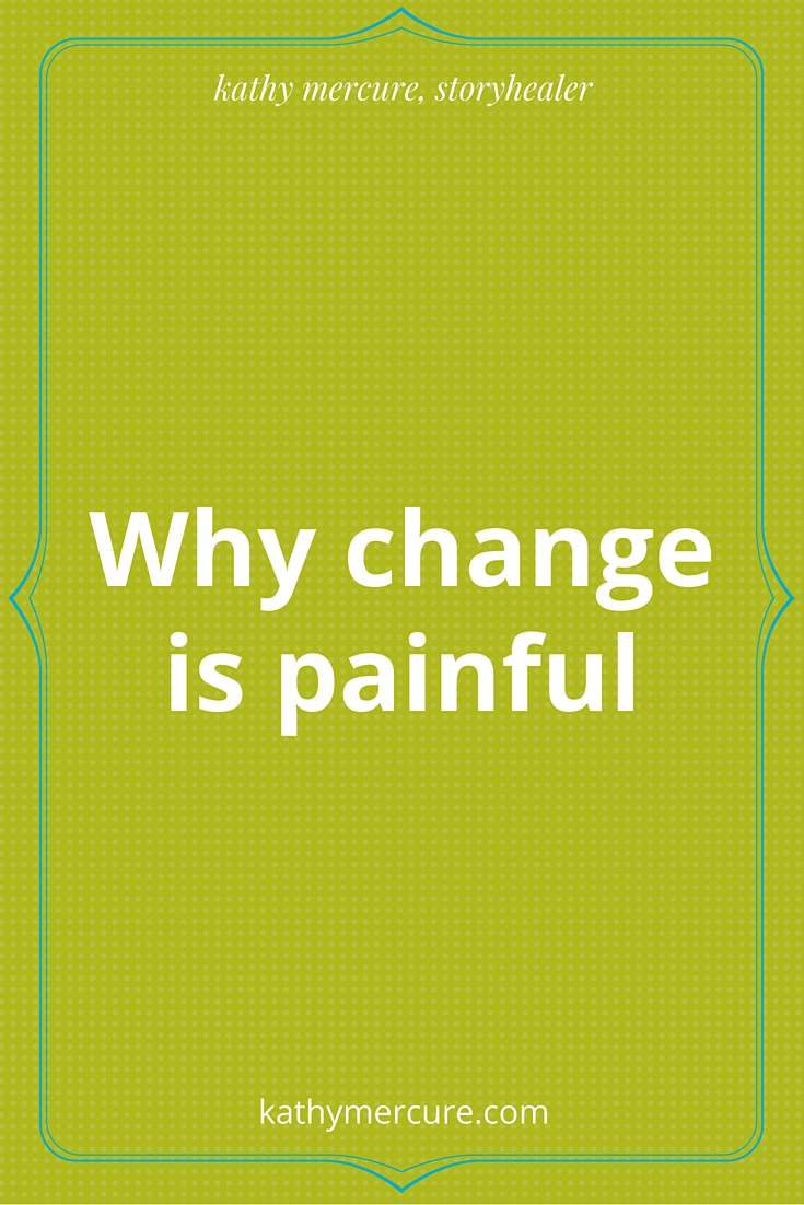 why change is painful