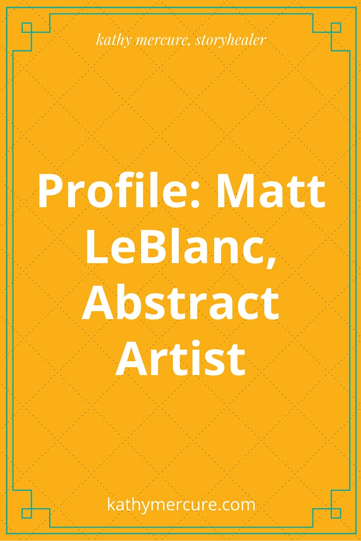profile matt leblanc abstract artist