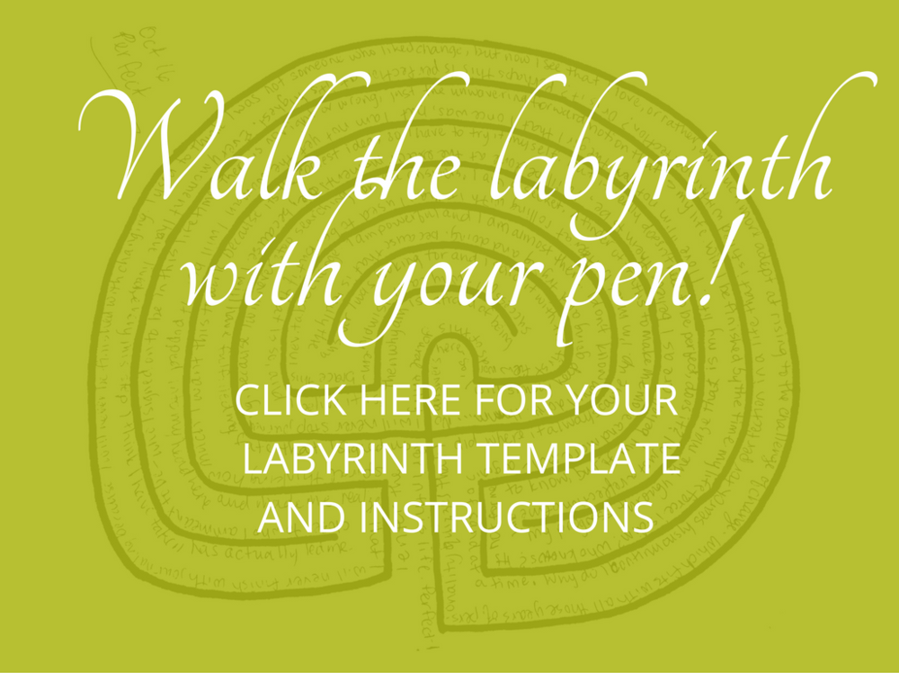 Learn how to walk the labyrinth with your pen to find the answers you are looking for. Get a FREE Labyrinth Pen Walking kit!