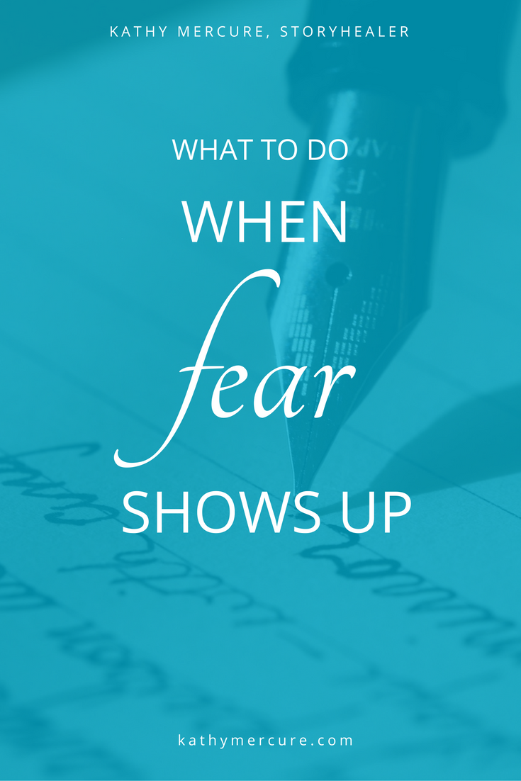 When we've had enough and are ready to break the pattern of Fear smacking us down so that we run back to our teeny-tiny boxes (our comfort zone, which is supremely uncomfortable in reality) we find the courage to face Fear. READ THE WHOLE BLOG...