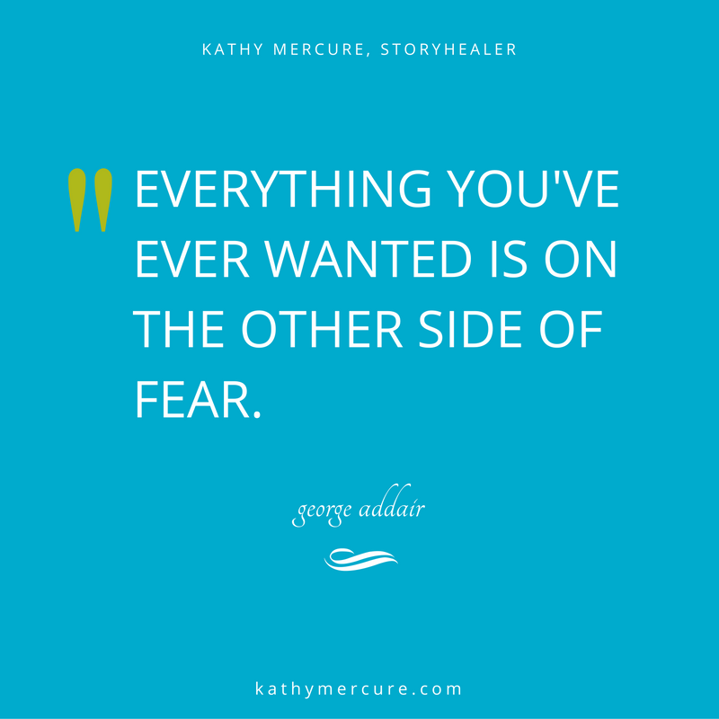 everything we've ever wanted is on the other side of fear