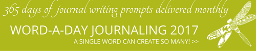 Free Word-a-day journaling