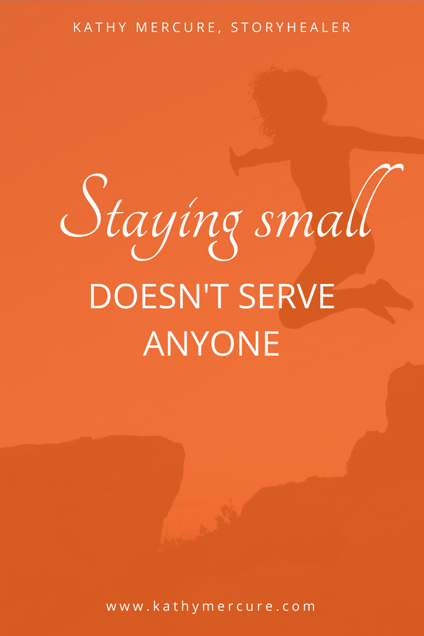 staying small doesn't serve anyone