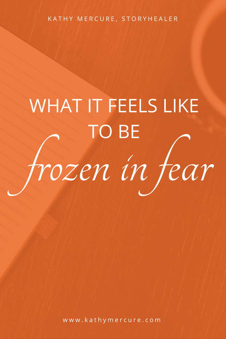 Being frozen in fear affects you mentally, physically, and spiritually. This morning I knew if I didn't get up and journal I would end up with a thankfully rare migraine. Instead of following my usual writing prompt, I sat with my Fear and tried to listen. Eventually, I began to hear the words and the pen started moving. Save this pin to read later, or follow through to read the entire blog now.