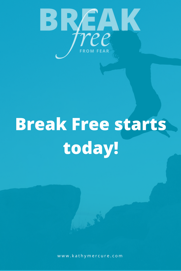 If you're ready to break free from your fears and start living a life you love, visit the Break Free course box below and find out what's in store for you when you sign up for this inspiring and life-changing course.