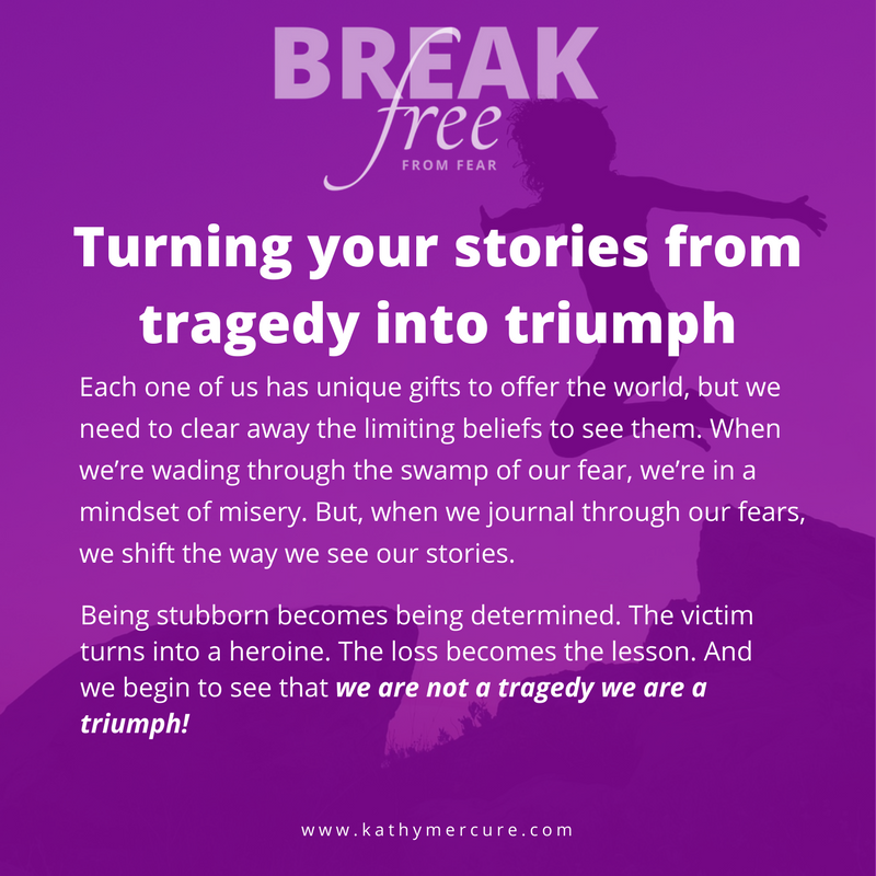 Turning your stories from tragedy to triumph — the turnaround. PIN to save