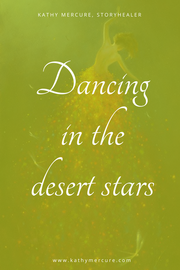 dancing in the desert stars