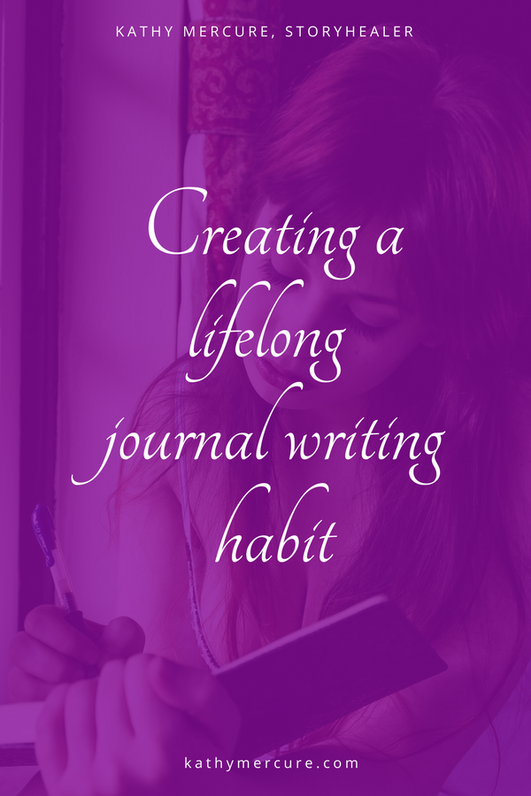 "When it comes to journaling, the most common thread that ripples through the conversation is  ""I NEED THE TIME AND MOTIVATION TO JOURNAL.""  It's one of the two biggest hurdles to overcome about journaling.    It's time to address HOW to develop a journaling habit.  SAVE THIS PIN OR READ LATER."