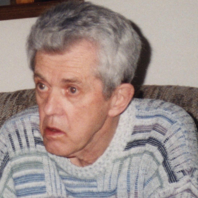 I had to share this photo too, to honour my father, the man... This is the last one I have of my Dad, who died at 73 of Alzheimer's.