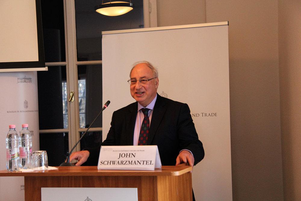 Dr John Schwarzmantel