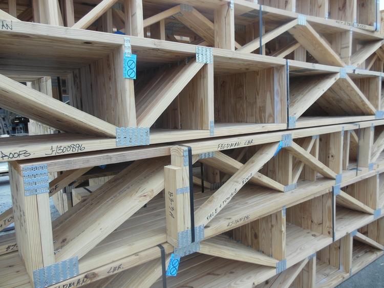 Wood floor trusses cost gurus floor for Open web floor trusses