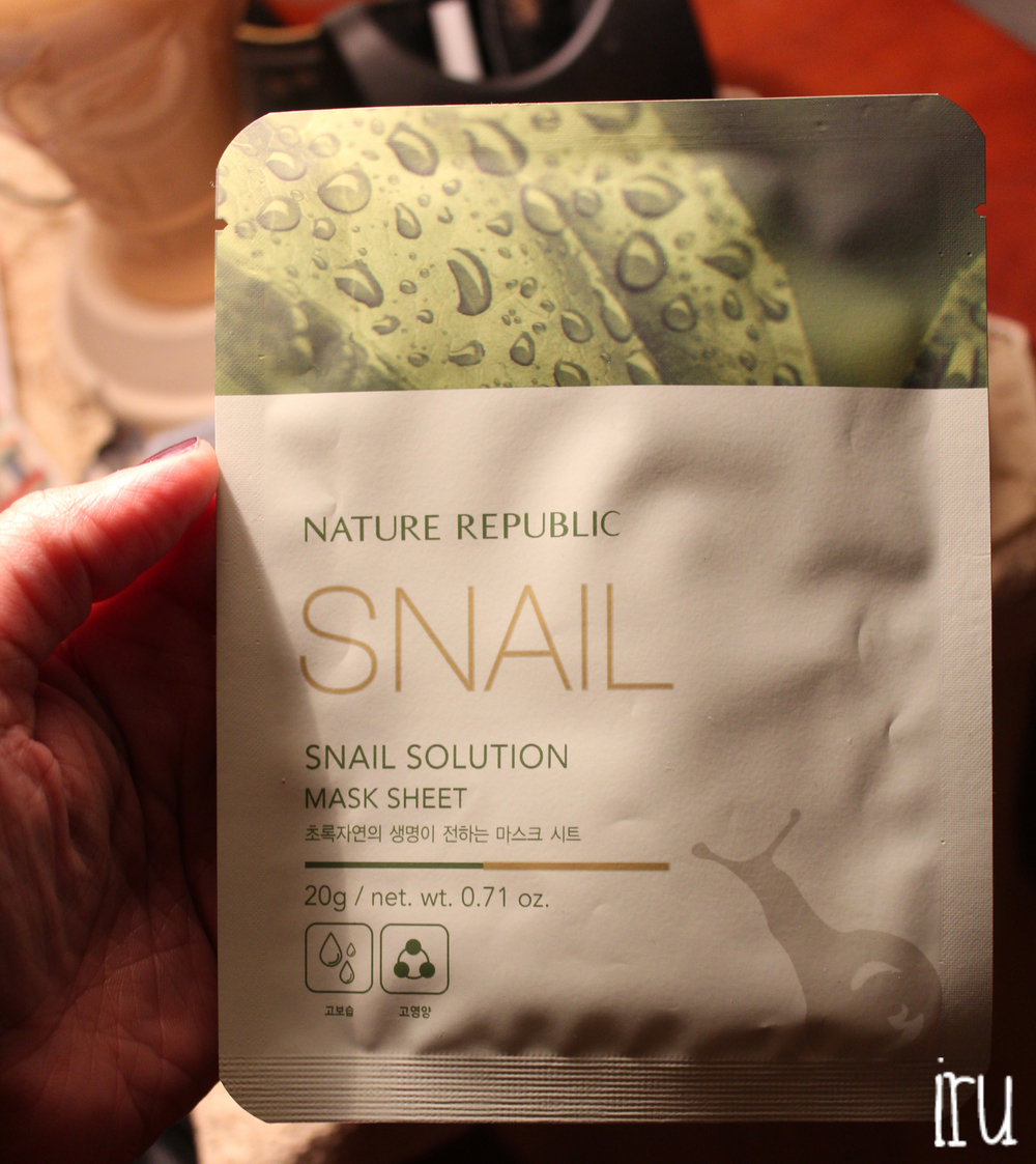 Nature Republic Snail Solution Mask Sheet Review Iquo Is Music Masker