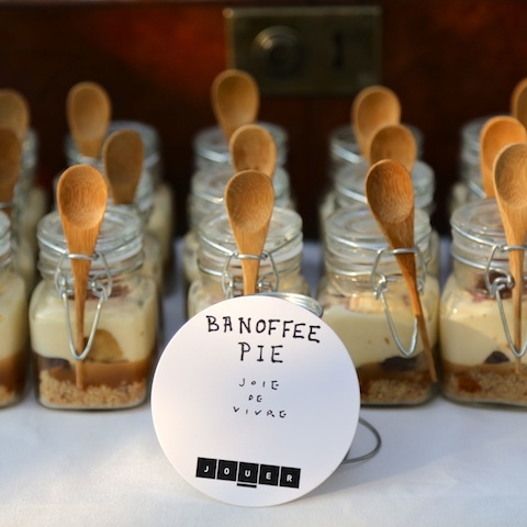 Banoffee Pie in a Jar