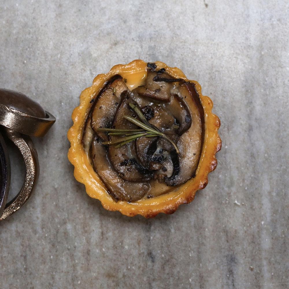 Rosemary Mushroom Tart, $38