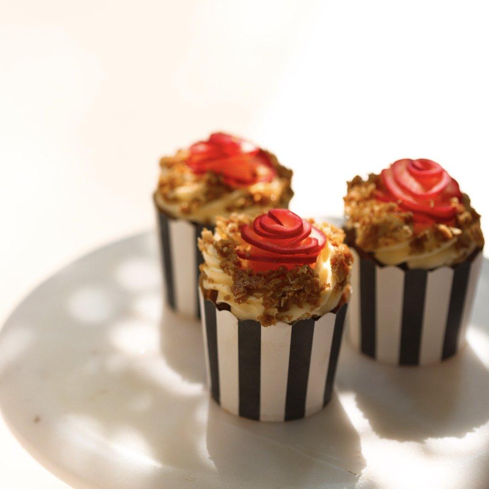 Elderflower Apple Earl Grey Cupcake, $32