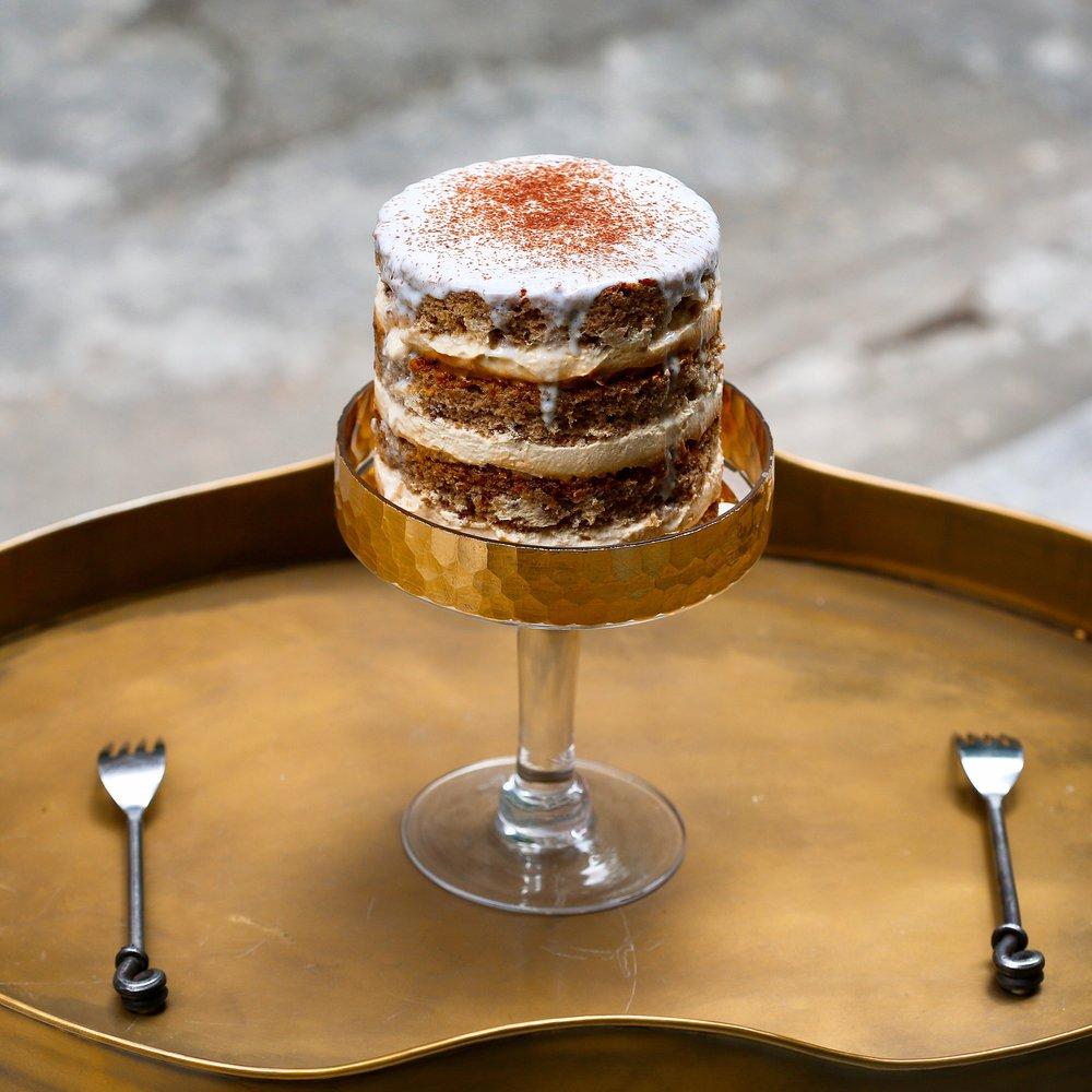 Sticky Toffee Pudding Cake,$55 / slice, $108+ / cake