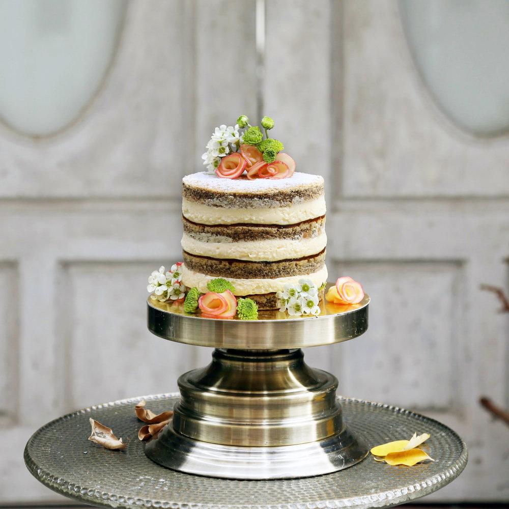 Lucy Honeychurch Cake,$55 / slice, $108+ / cake
