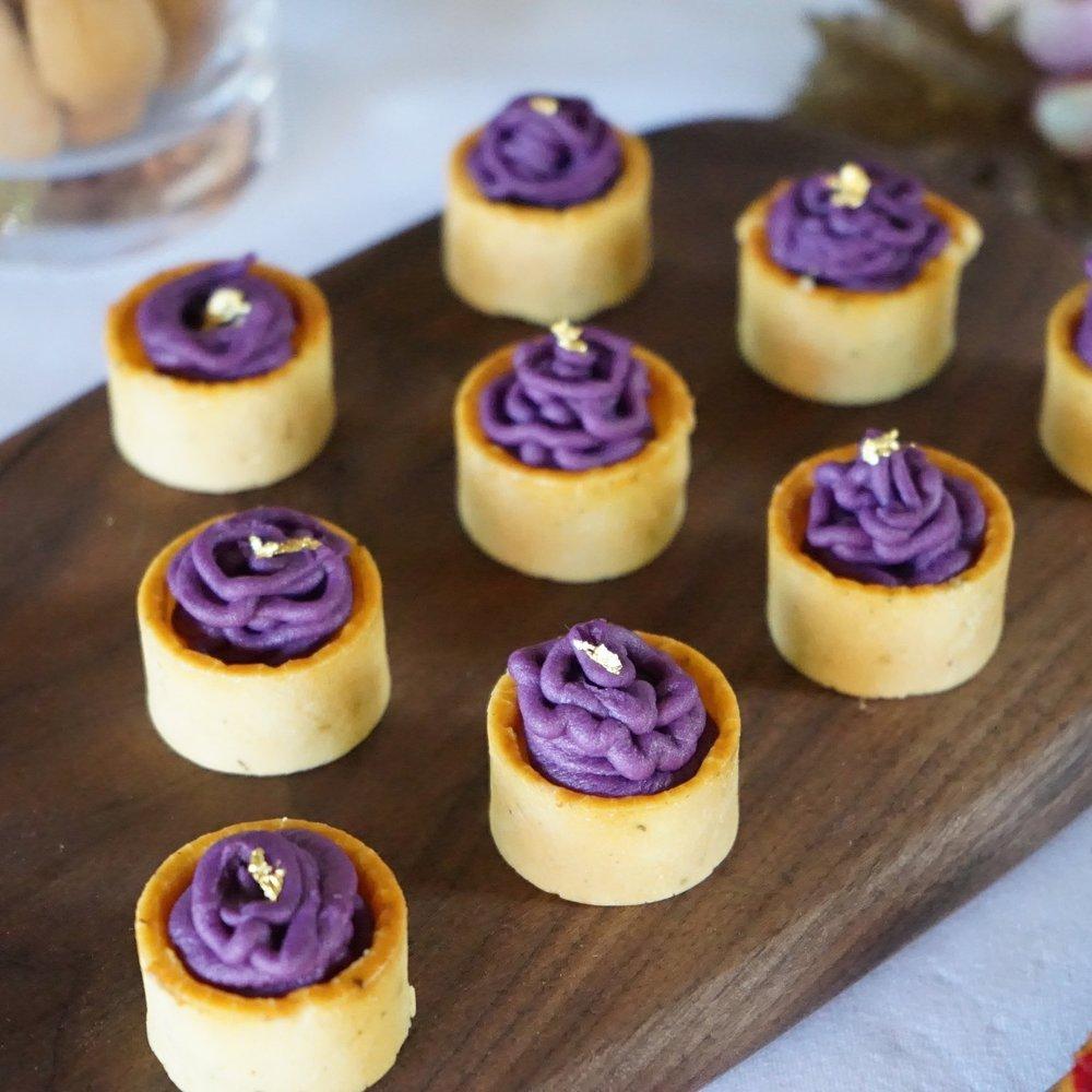 Mini Purple Sweet Potato Mont Blanc1.JPG