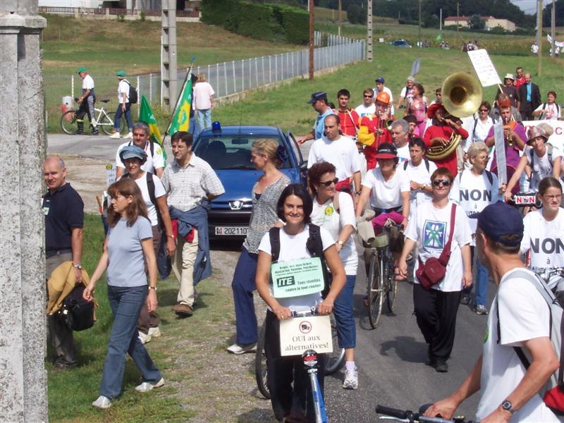 16 septembre 2006, manifestation transport et climat, Valence