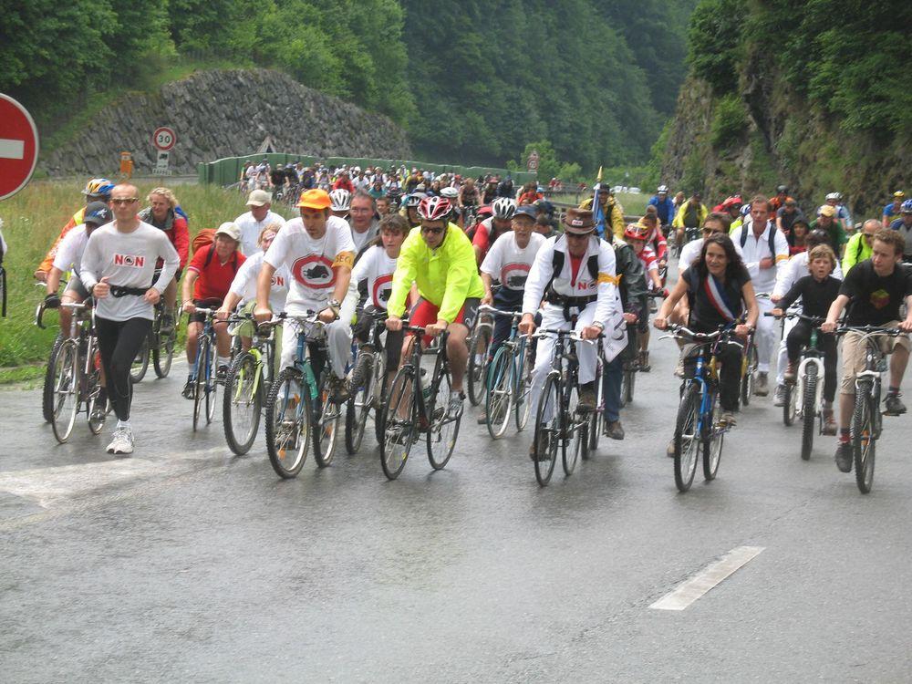 31 mai 2008, montée du viaduc à vélo