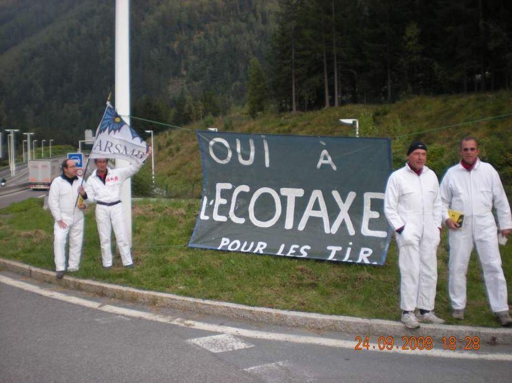 Septembre 2008, soutien à l'écotaxe, La Vigie