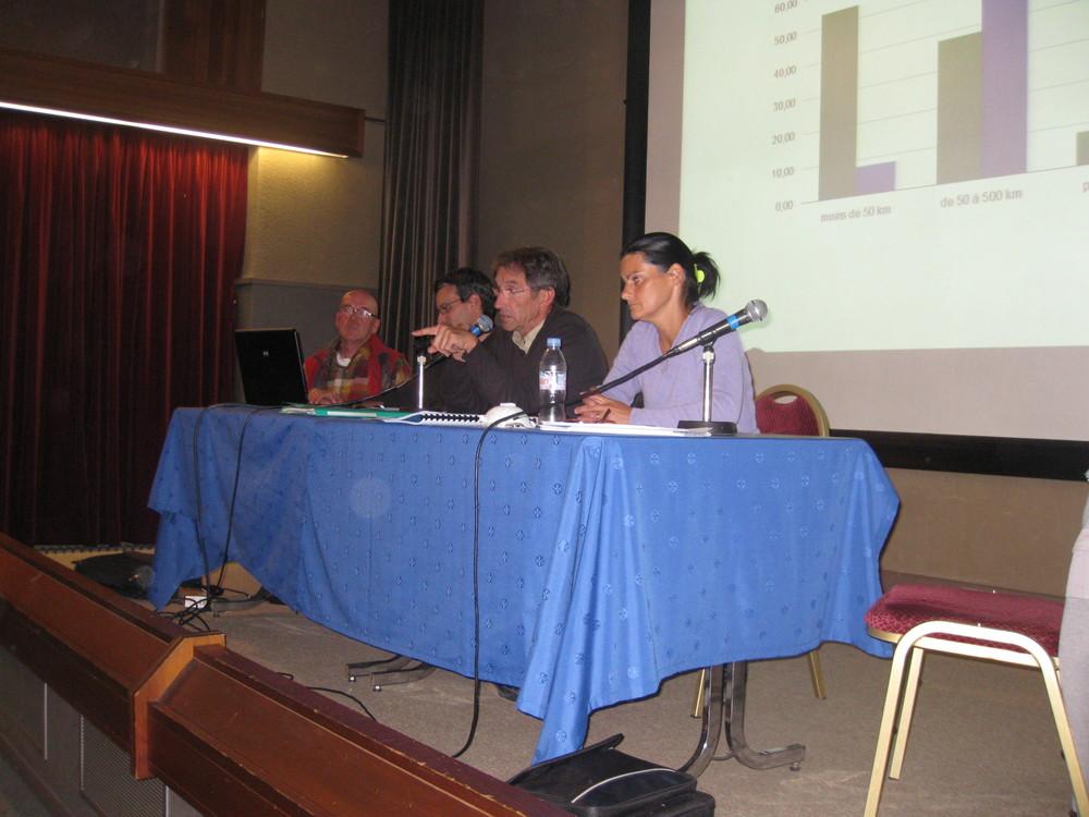 17 octobre 2011, réunion publique PPA, Chamonix