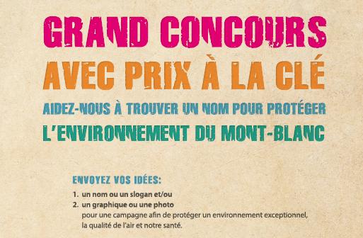 Mai 2013, grand concours pour trouver un nom, logo et slogan pour une campagne (qui deviendra Inspire)