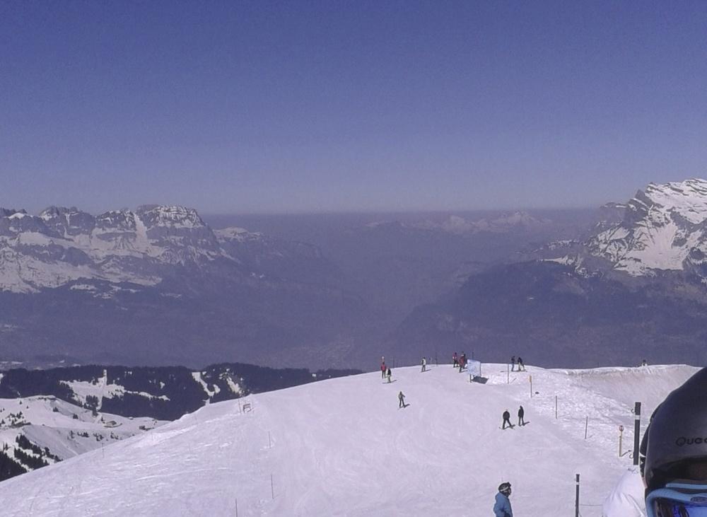Pic de pollution sur toute la Haute-Savoie, mars 2014