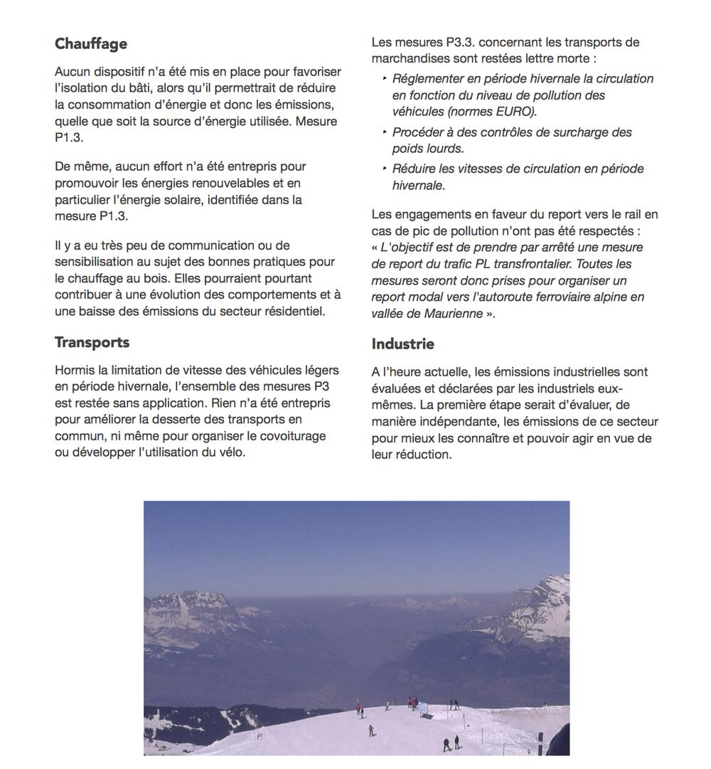 Notre évaluation de l'état d'avancement du PPA – mars 2015