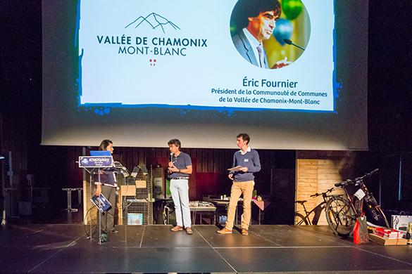 Éric Fournier, Communauté de Communes de la Vallée de Chamonix-Mont-Blanc.