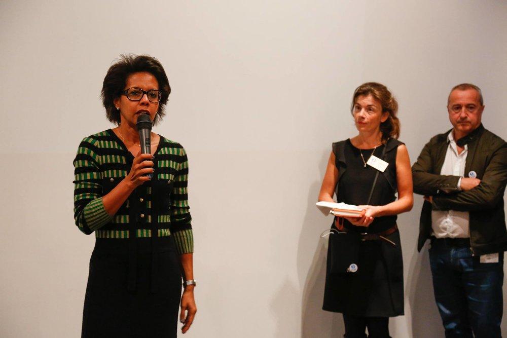 Audrey Pulvar, présidente Fondation pour la Nature et pour l'Homme