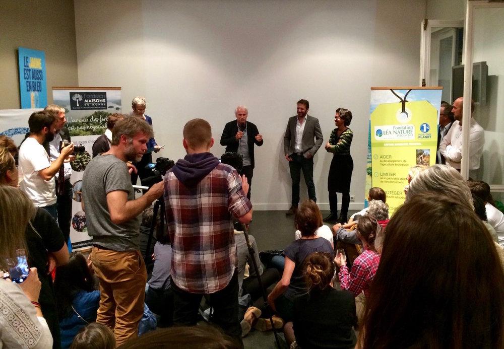 Yann Arthus Bertrand, président Fondation GoodPlanet