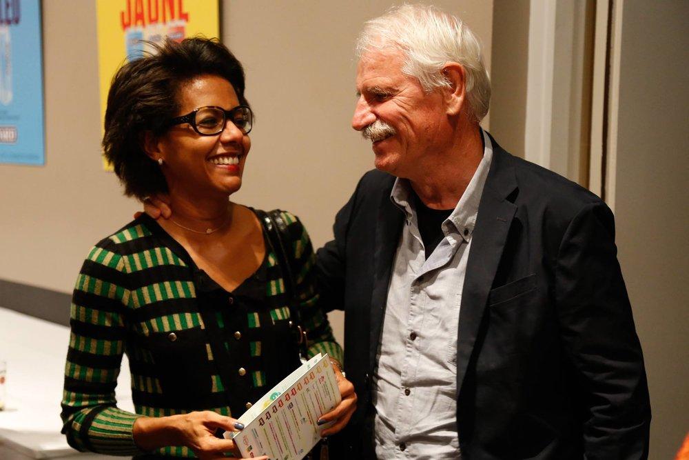 Audrey Pulvar et Yann Arthus-Bertrand