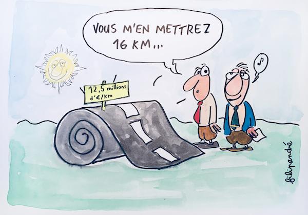 Machilly-Thonon - une autoroute à prix fort - Le péage prévu en fera l'autoroute la plus chère de France au km, plus chère que l'autoroute des titans. De plus, une subvention départementale de 100 millions d'€ d'argent public est prévue. Tous les haut-savoyards seront mis à contribution pour financer la construction de cette autoroute privée.