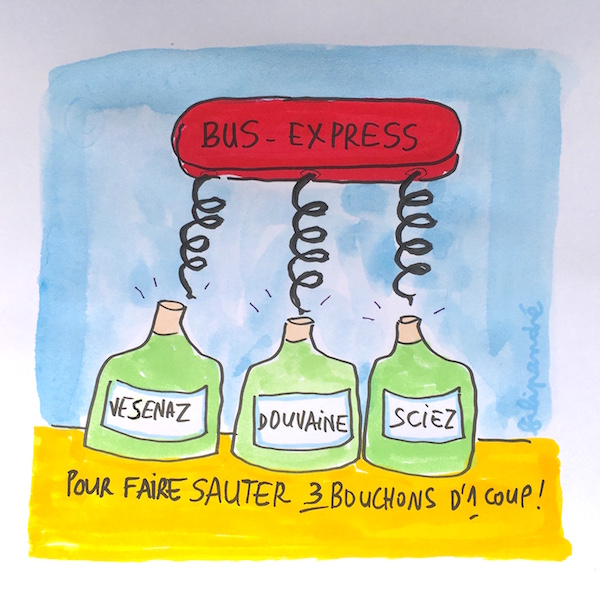 Le Bus Express : LA solution