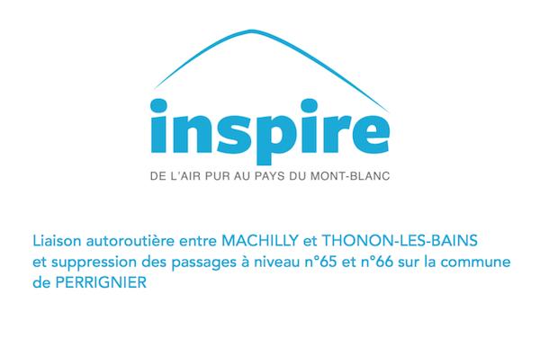 Voir l'avis d'Inspire - Contribution numéro 8813 à l'enquête publique du projet d'autoroute Machilly-ThononVoir la contribution d'Inspire