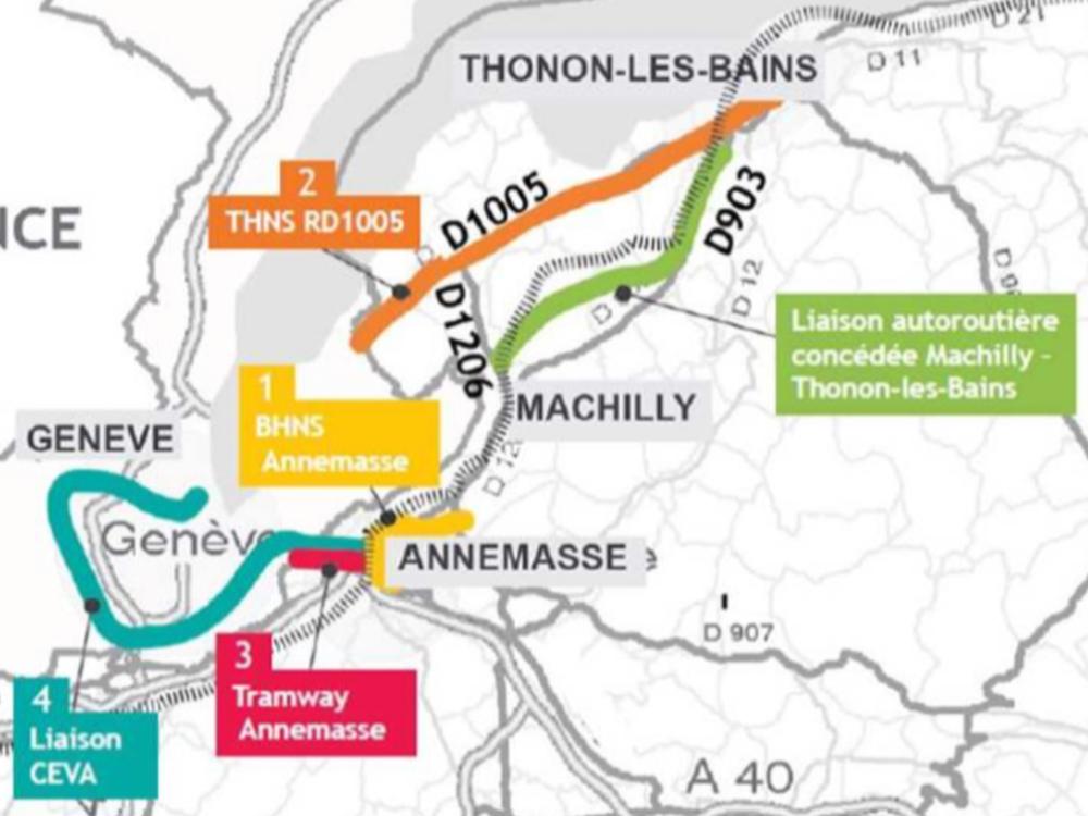 Résumé du dossier d'enquête publique - Inspire a résumé en quelques pages et cartes l'utra-volumineux dossier d'enquête publique du projet d'autoroute Machilly-ThononVoir le dossier résuméParticiper à l'enquête publique jusqu'au 13 juillet 2018