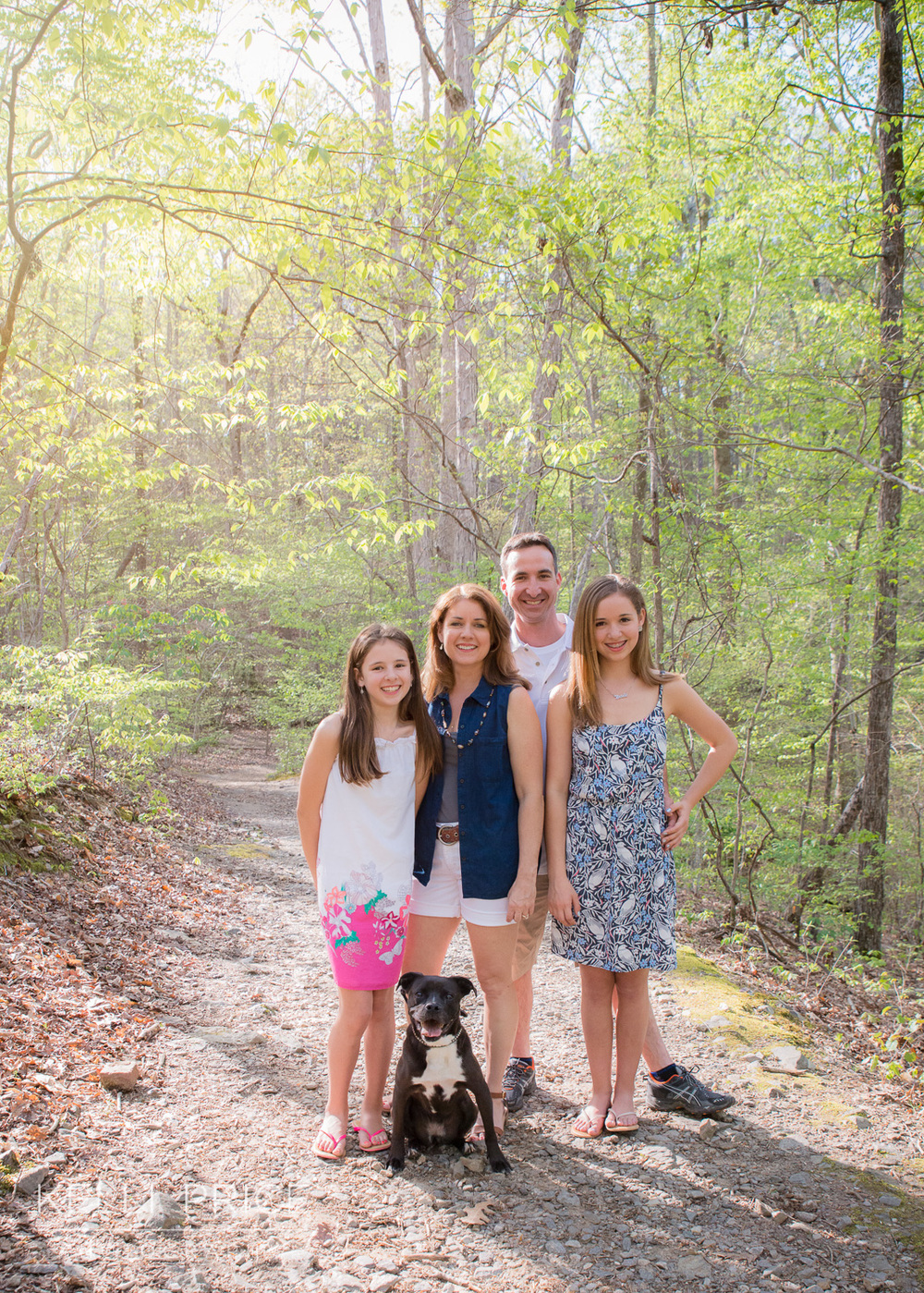 Family Session at Sope Creek, Marietta, Georgia
