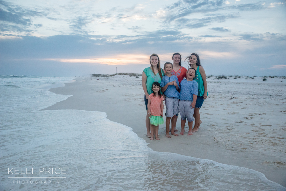 Maternity & Family Session at Destin Beach